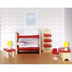Mebelki dla lalek - Pokój...