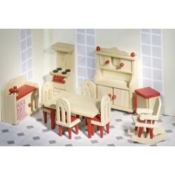 Mebelki dla lalek- kuchnia...