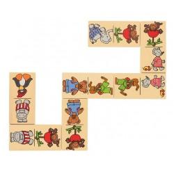 Drewniane domino -...