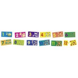 Puzzle - Cyfry z obrazkami...