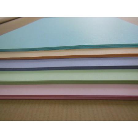 Mix papierów 80g,125ark, A4