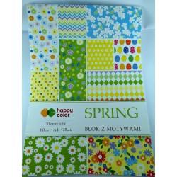Wiosna - blok kreatywny...