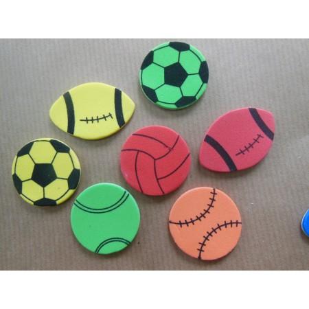 Piłki różne - pianki...