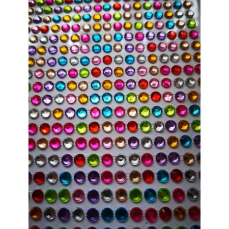 Dżety kryształki kolorowe...