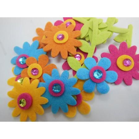 Kwiatki z łodyżkami (12...