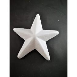 Gwiazdka 6cm styropian