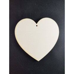 Serce 10cm, sklejka
