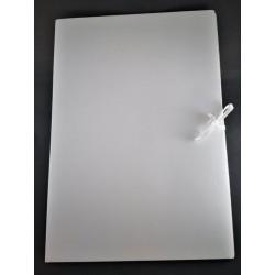 Teczka biała wiązana, A3