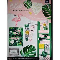Blok kreatywny tropik
