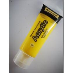 Farba akrylowa 75ml, żółta