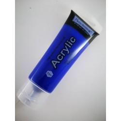 Farba akrylowa 75ml, niebieska