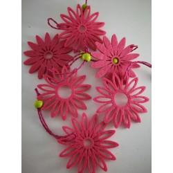Zawieszki -Kwiatki filcowe...