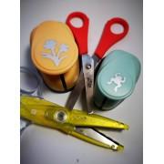 Nożyczki i dziurkacze ozdobne